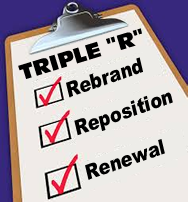 Triple R - Rebrand | Reposition | Renewal